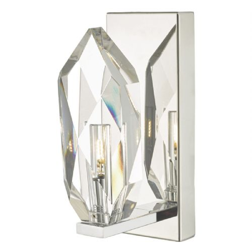 Crystal Wall Light Polished Chrome & Crystal (double insulated) BXCRY0750-17